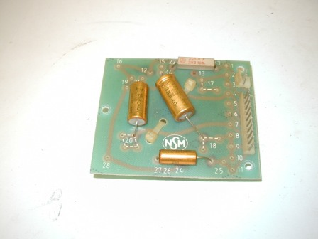 NSM Prestige ES-160 Cross Over PCB With Coil On Back (Item #26) $24.99