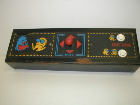 Pac-Man Control Panel (With Joystrick & Start Buttons) (Item #51) $74.99