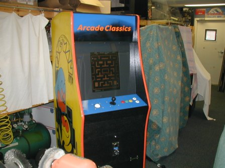 Pac-Man Cabinet / 60 in One Rebuild