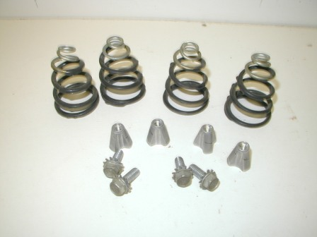 Rowe Mechanism (60870001) (Serial no.08750) Base Spring Feet (Item #12) $13.99
