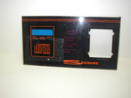 Seeburg (SCD - 1) CD Juke Door Plexi Panel (Item #3) $24.99