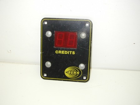 Sunn Credit Display (Item #2) (Front View) $26.99