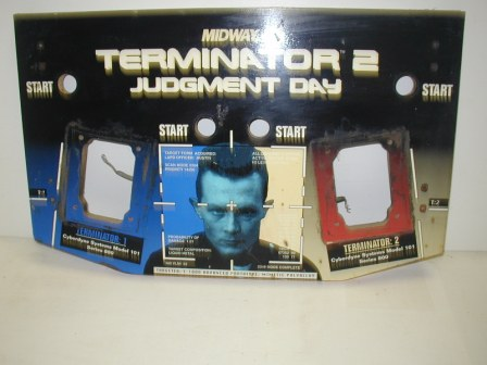 Terminator 2 Control Panel (Item #45) (Some Scratche On The Guys Face) (About A 7 Out Of 10 In Condition) $49.99