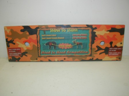 Trophy Hunting Bear and Moose Control Panel (Item #47) $34.99