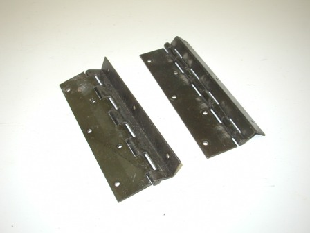 offset piano hinges. unknown offset hinges (item #6) (5 3/4 long x 1 piano f